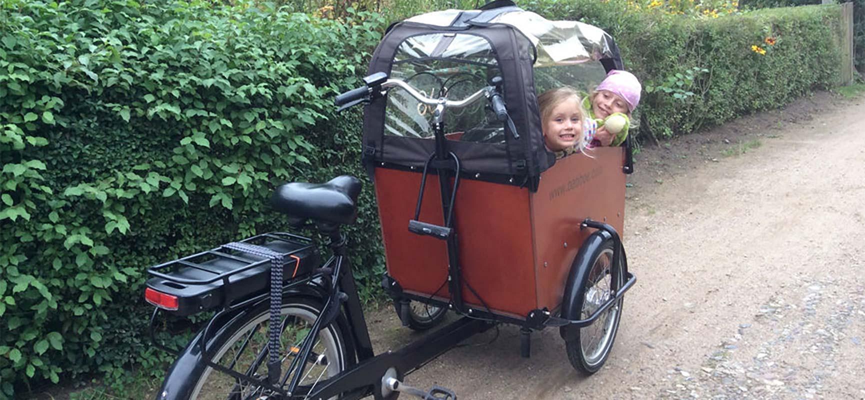 Kindersitz Babboe Lastenrad