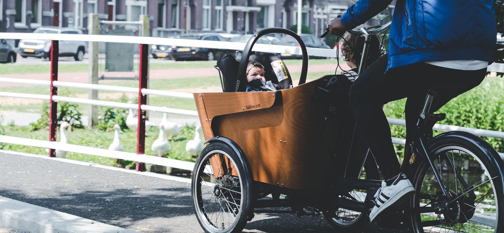 Fahrradfahren mit Baby