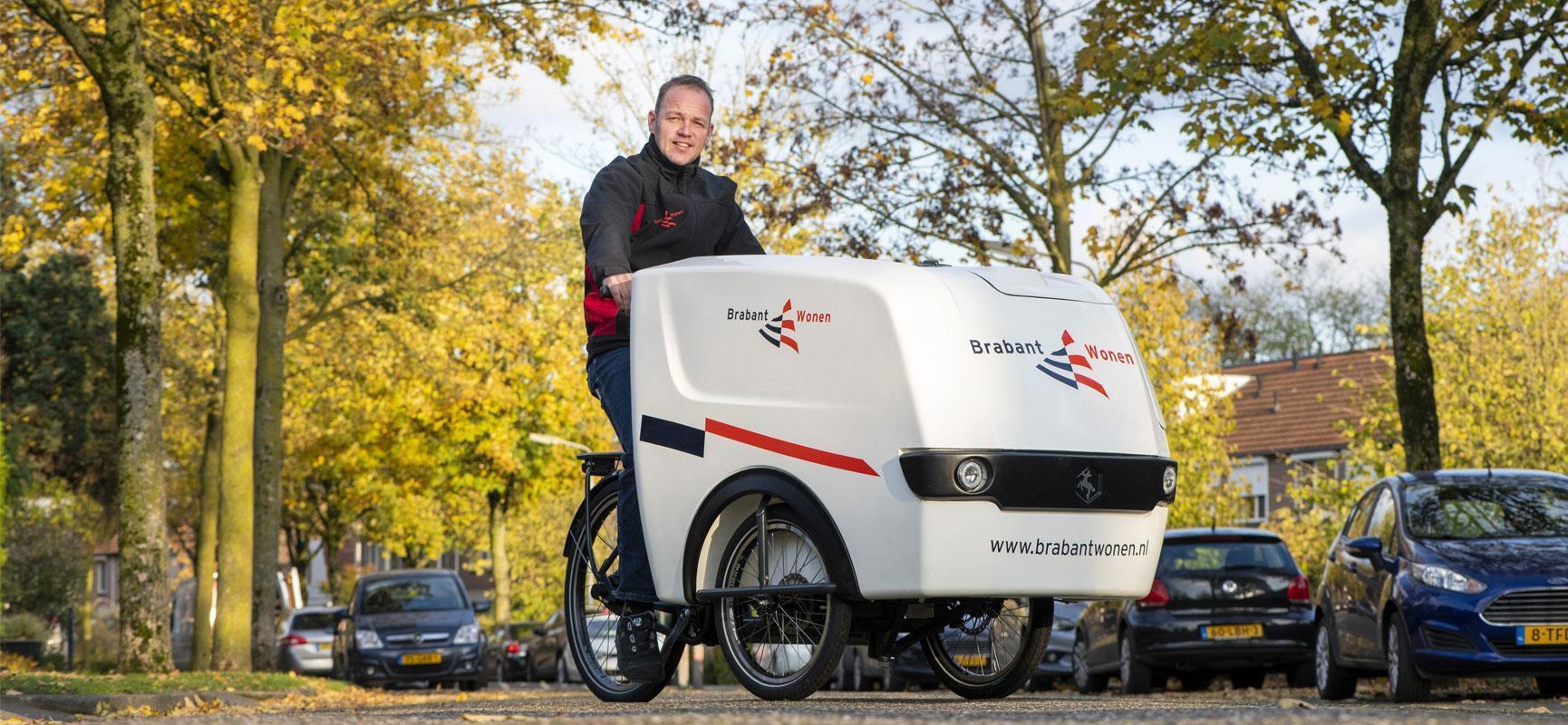 Das Elektro-Transportfahrrad von BrabantWonen