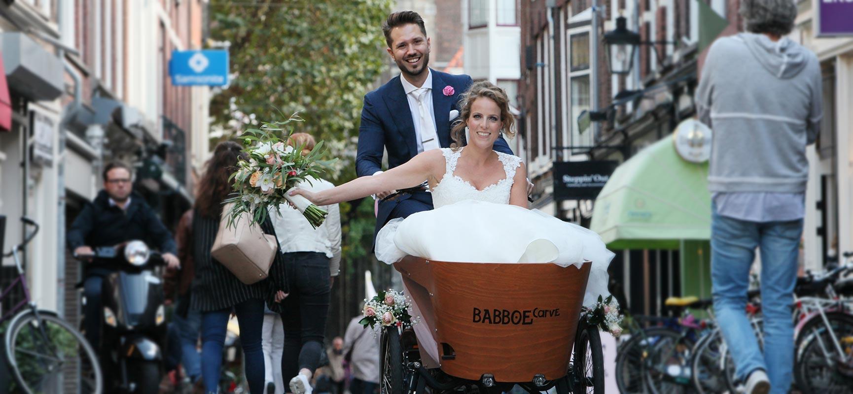 Auf dem Lastenfahrrad heiraten? Das ist machbar!