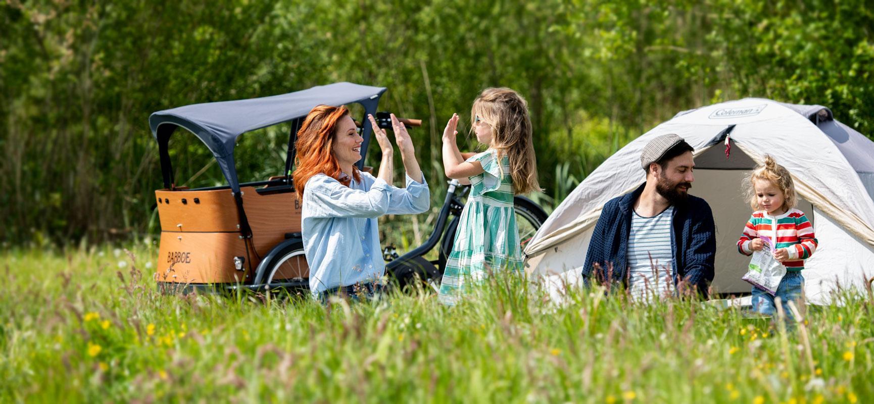 8 praktische Tipps für das Fahrrad fahren mit Kindern in der Sonne