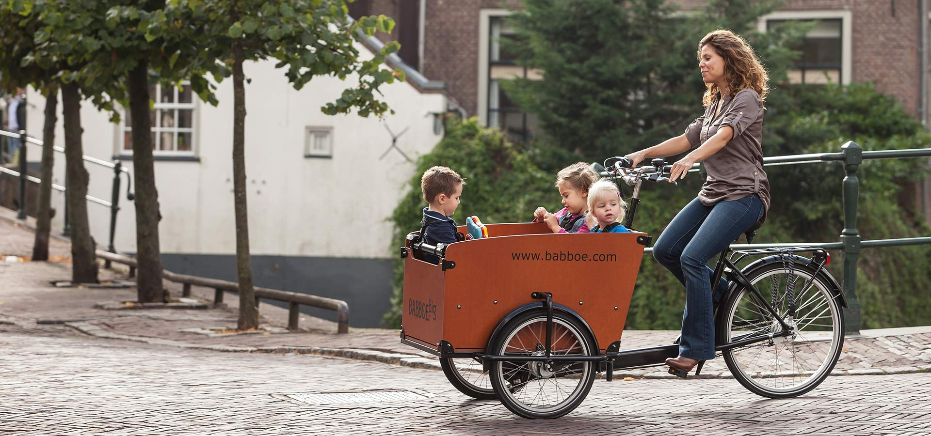 Kindertransport Fahrrad