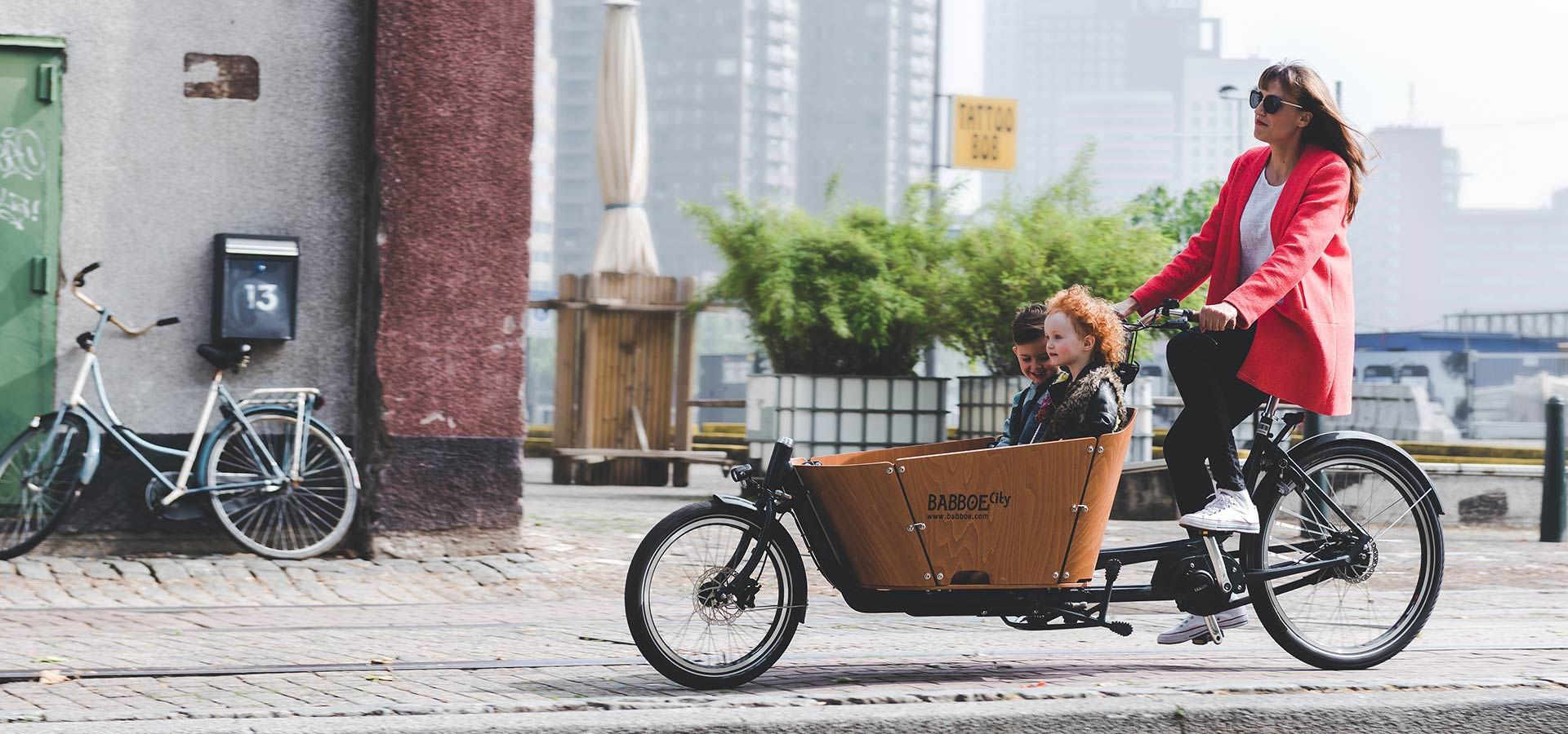 Babboe City - Long John Fahrrad