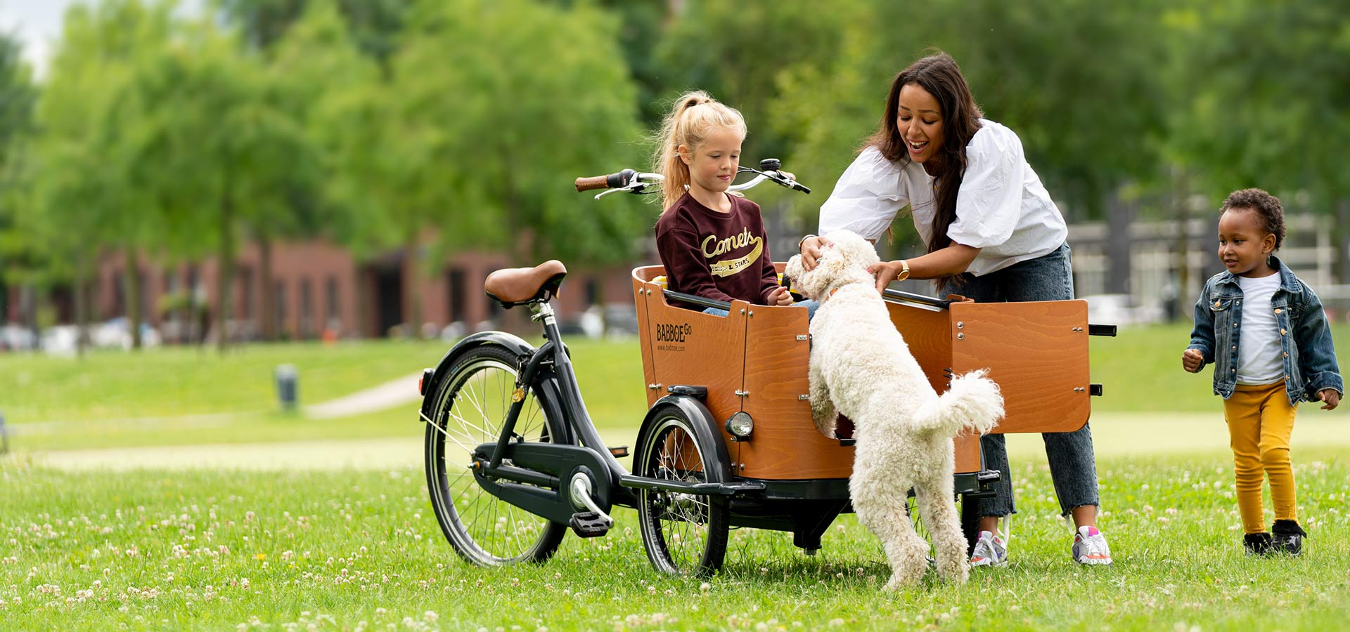 Babboe Go - Lastenfahrrad Hund