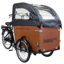 Babboe Regenverdeck Dog schwarz