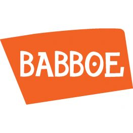 Babboe Schutzblechstrebe hinten Silber