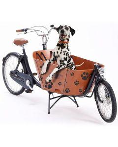 Babboe Lastenrad Aufkleber Hundepfoten