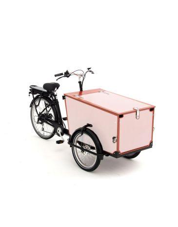 Babboe Lastenfahrrad Aufkleber Pro Trike Holz - 3 Paneele + klappe