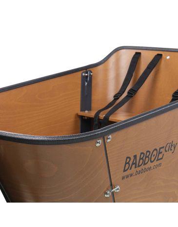 Babboe Schutzrand schwarz