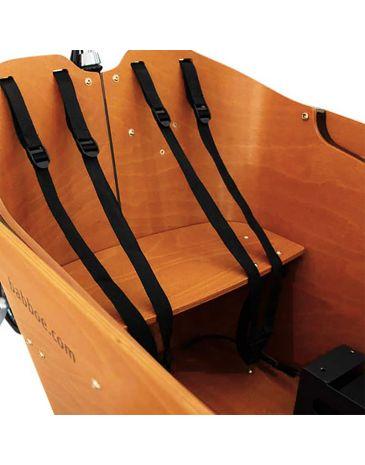 Babboe Sitzbank Holz