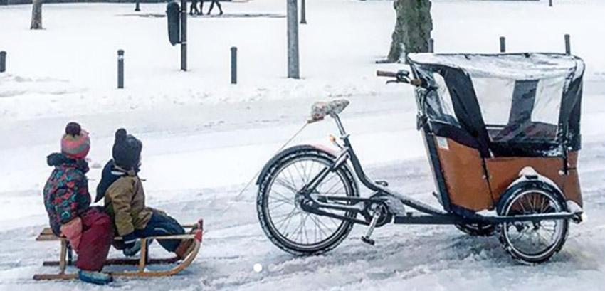 Wintertipps zum Fahren mit dem Lastenfahrrad
